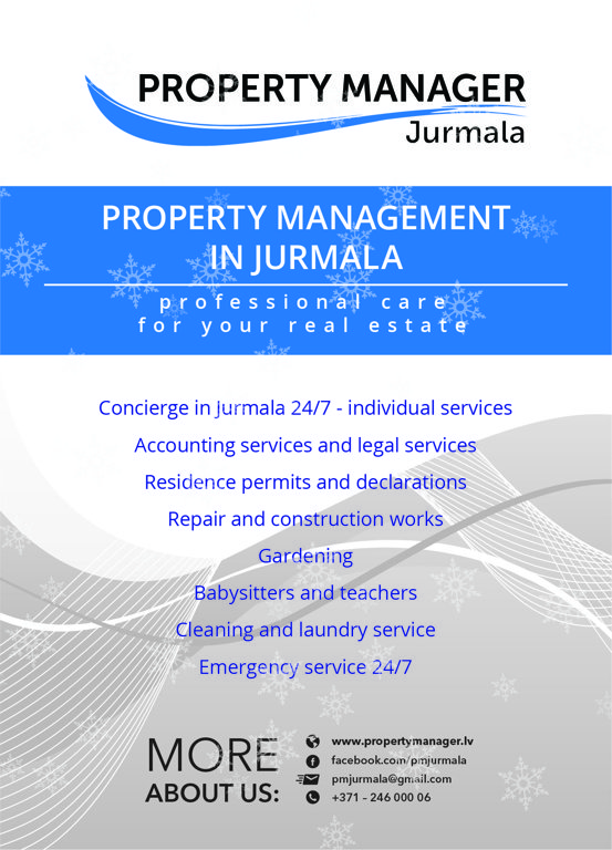 property management jurmala