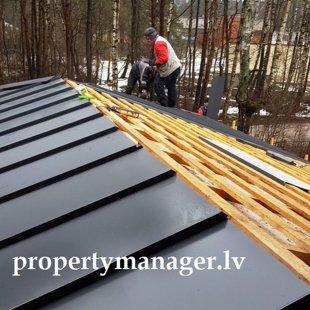 Установка и монтаж крышы