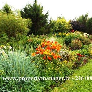 Цветы и сады в Юрмале