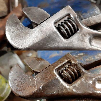 Разводные клучи - реставрация