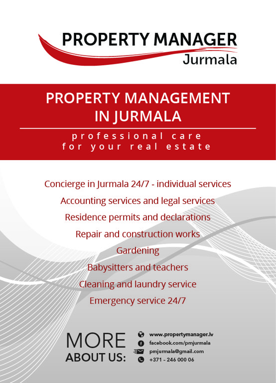 Property management in Jurmala